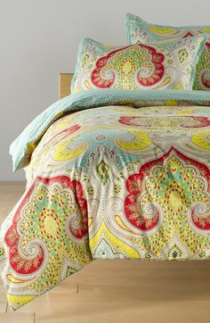 Free shipping and returns on Echo 'Jaipur Mini' Duvet & Shams at Nordstrom.com. Bold, beautiful paisley swirls across a vibrant cotton duvet cover paired with matching shams.