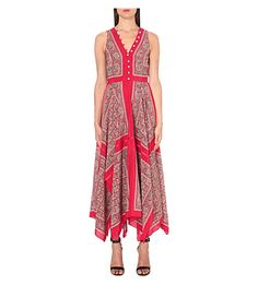 ALTUZARRA Clemmie Paisley-Print Silk Maxi Dress. #altuzarra #cloth #dresses
