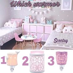 How to Design a girl's bedroom? girls bedroom designs super cute pink, grey and turquoise shared bedroom with polka dot YUBRZSH Kmart Home, Girl Bedroom Designs, Girls Bedroom Decorating, Bedroom Decor For Kids, Decor Room, Room Decorations, Baby Bedroom, Bedroom Wall, Twin Girl Bedrooms