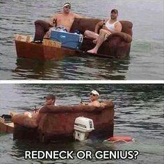 Redneck Trolling Boat