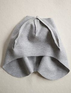 Wool + Cotton Sewn Ear Flap Hat | Purl Soho Baby Moccasin Pattern, Fleece Hat Pattern, Hat Patterns To Sew, Girl Dress Patterns, Skirt Patterns, Blouse Patterns, Fleece Hats, Fleece Blankets, Maxi Dress Tutorials
