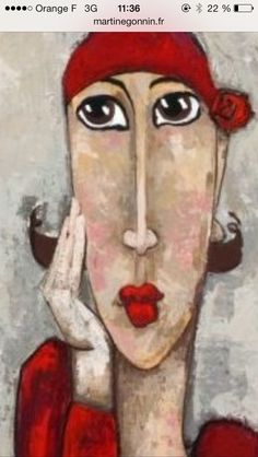 Risultati immagini per gonnin martine Pop Art, Art Fantaisiste, Art Visage, L'art Du Portrait, Art Et Illustration, Inspiration Art, Whimsical Art, Types Of Art, Face Art