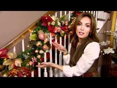 ▶ How to Decorate for Christmas with Garland - Tip from Lisa Robertson - YouTube