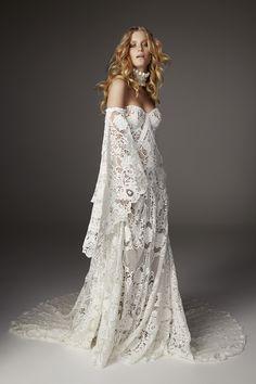 Rue De Seine bell sleeve wedding dress - 2017 Love Spell Collection
