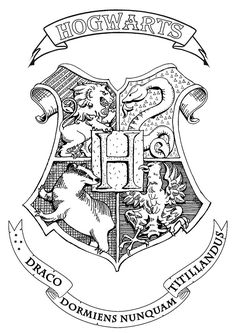 Symbol emblem seal sign logo or flag of Hogwarts : School of Witchcraft and Wizardry in Harry Potter books. From the gallery : Books The post Symbol emblem seal sign logo or flag of Hogwarts : School of Witchcraft and appeared first on Best Tattoos. Harry Potter Tumblr, Harry Potter Tattoos, Dobby Harry Potter, Harry Potter Kawaii, Harry Potter Library, Harry Potter Sketch, Harry Potter Colors, Arte Do Harry Potter, Harry Potter Symbols