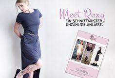 ich darf euch mein neues eBook vorstellen: Roxy. Ein Allround-Kleid für (fast) jeden Anlass.