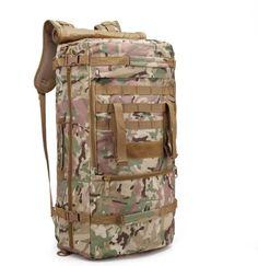 ACU 2 Survival Backpack, Tactical Backpack, Travel Backpack, Fashion Backpack, Backpack Camping, Survival Food Kits, Men's Backpacks, Men Hiking, Mountaineering