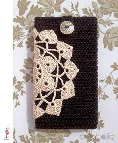 Handmade Anabelia: Nowy smart phone obejmuje szydełka