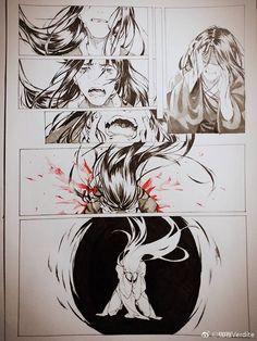 Black & White Concept. Manga Art, Manga Anime, Anime Art, Drawing Reference Poses, Art Reference, Art Sketches, Art Drawings, Comic Tutorial, Comic Layout