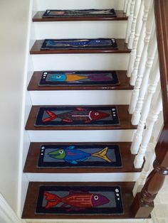 Best Funky Carpet On Stair Treads Staircase Ideas Stair 400 x 300