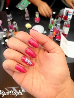 Awesome manicure by the Lakme Expert Team! more: http://spotlightxoxo.com/lakme-fashion-week-winterfestive-2014-story/