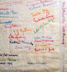 Untitled Prison embroidery by Suffragettes, 1905 - 1914