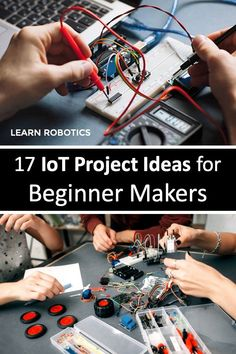List of 17 Internet of Things (IoT) projects for Beginner Makers. Give these projects a try and build your own smart devices.