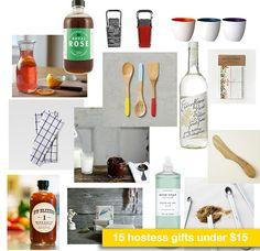 15 hostess gifts under 15 dollars