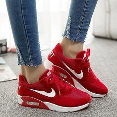 huge selection of 5a3fc b2bde Zapatos Lindos, Zapatos Nike Mujer, Zapatos Deportivos Mujer, Zapatos  Bonitos, Zapatos De