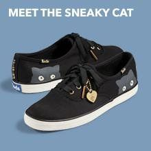 Amazon.com | Keds Women's Taylor Swift Sneaky Cat Fashion Sneaker | Size 8.5
