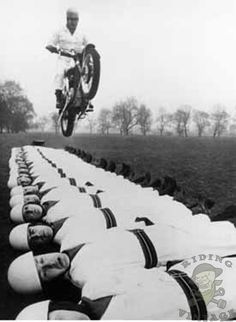 Vintage Motorcycle Stunts - Riding Vintage
