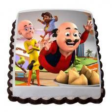 Motu Patlu Cartoon Photo Cake In 2020 Birthday Cake Delivery