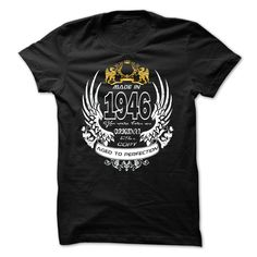 made in 1946 original T Shirt, Hoodie, Sweatshirt