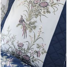 NEW | these gorgeous pillowcases match the new Birds of Paradise bedding from Dorma - available now at www.victorialinen.co.uk