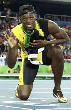 「世界最速の男」ウサイン・ボルトが史上初となる 3 種目 3 連覇の偉業を達成!リオデジャネイロオリンピック・リオ五輪 2016