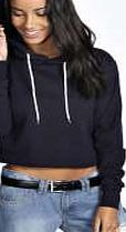 boohoo Crop Overhead Hoody - navy azz19817 Call on this cropped hoodie for a statement take on your staples this season. Layer it over a printed tee , with slouchy boyfriend jeans and pointed courts for a polished twist. http://www.comparestoreprices.co.uk/womens-clothes/boohoo-crop-overhead-hoody--navy-azz19817.asp