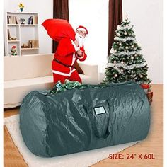 #Christmas Where can I find Prextex Deluxe Christmas Tree Storage Bag for Christmas Gifts Idea & Christmas Shop For Clear Poly Vinyl Christmas Tree Storage Bag for ...