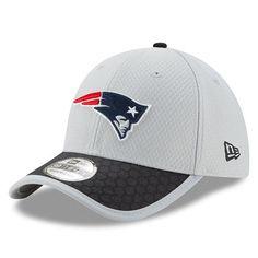 6df493c3858 New England Patriots New Era 2017 Sideline 39THIRTY Flex Hat - Gray