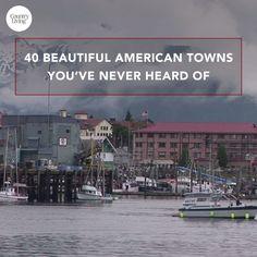 Travel Ideas 40 Beautiful American Towns You've Never Heard Of House-Painting Tips Seasons wreak hav Rv Travel, Travel Advice, Adventure Travel, Places To Travel, Places To See, Travel Destinations, Travel Tips, Travel Videos, Camping List
