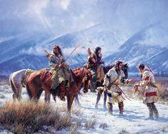 Western Painting   Western Art - winter-ride---martin-grelle.jpg - Minus
