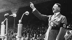 Hitler aan het speechen