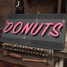 Tj Pinstriping: DONUTS