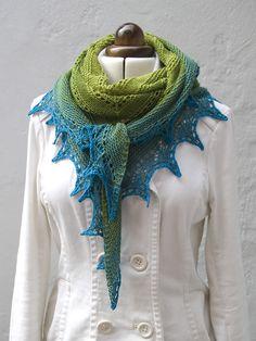 Ravelry: Alma Ella Shawl pattern by Robin Lynn