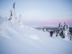 The outcrops of ancient hills in the Ylläs-Pallas and Pyhä-Luosto national parks are two of the many beautiful areas explored by arctic surf-seekers. Arctic, Winter Wonderland, Surfing, National Parks, Dreams, Explore, Outdoor, Beautiful, Outdoors