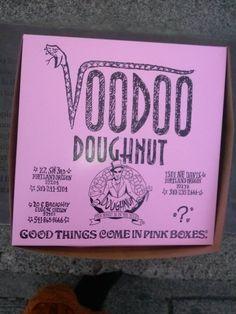 #VoodooDoughnuts #Portland #Oregon #Doughnuts