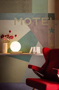 Carta da parati WALL&DECÒ | Collezione 2016 | Motel futuriste