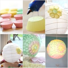 18 Amazing DIY Paper Lanterns and Lamps - The Perfect DIY