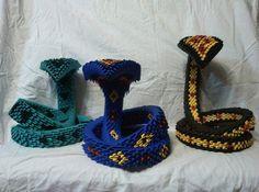 Origami cobra family