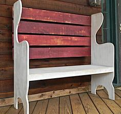 Farmhouse Chic Bench | Do It Yourself Home Projects from Ana White