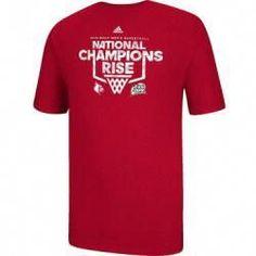 5c405a885 Louisville Cardinals adidas NCAA 2013 Basketball National Champ Rise Up T-Shirt  basketball t-shirt