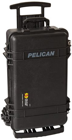 Pelican 1510M Case, 23.55' x 14.36' x 10.62' Medium Carry On Mobility Version Case w/ Foam Black >>> Want to know more, click on the image.
