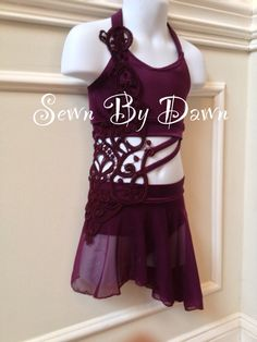 Custom Lyrical Costume Sewn By Dawn