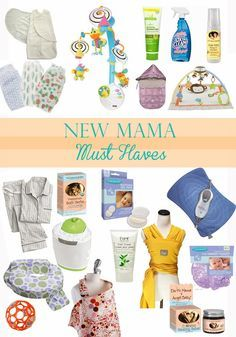 New Mama Must-Haves - Sparkling Footsteps - this is a good list, especially that mobile!! HH .