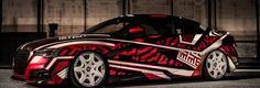 Audi A5 Dazzle camo