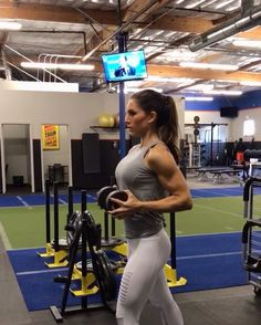 "10.1k Likes, 172 Comments - Alexia Clark (@alexia_clark) on Instagram: ""Pressing to 2017! Upper body workout! 40 seconds of each movement with minimal rest 3 rounds!!!…"""
