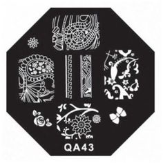First Class Nail Art Stickers Manicure New in Market Template QA Series Styles Code QA43 -- Want to know more, click on the image.