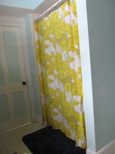 Make A Shower Curtain From Recycled Sheets Curtains Neutral Bed