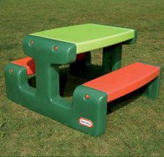 Little Tikes Grote Picknicktafel Groen #littletikes #picknicktafel