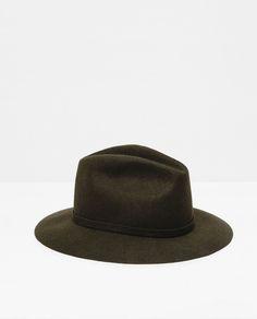 Image 1 of FELT HAT from Zara