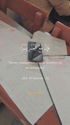 Vie Motivation, Study Motivation Quotes, Study Quotes, Quotes Rindu, Hadith Quotes, Muslim Quotes, Text Quotes, Quran Quotes Inspirational, Quran Quotes Love